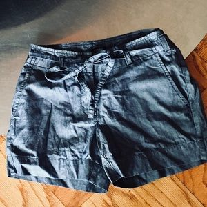 "NWT! J. Crew Factory ""City Fit"" Jean Shorts w Tie"